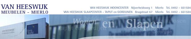 Van Heeswijk Woon- en Slaapcenter Mierlo