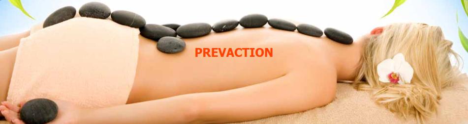 Prevaction, Sport- en Ontspanningsmassage